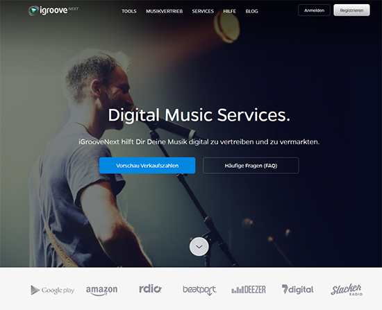 iGrooveNext.com, promote and distribute music worldwide.